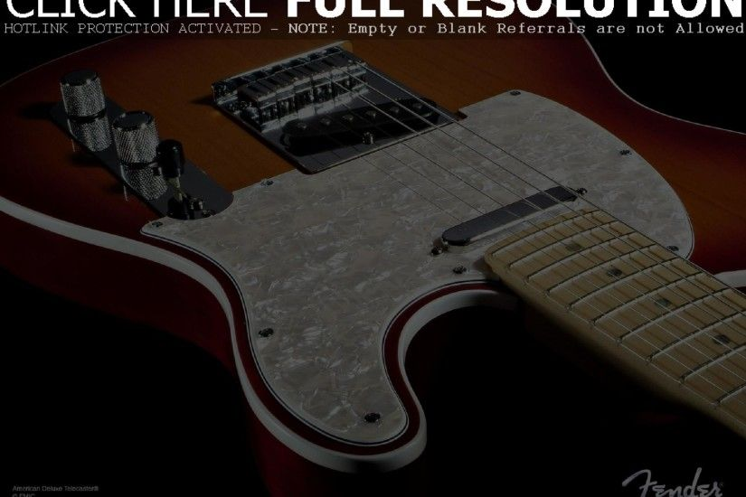 Fender Guitar Wallpapers Desktop Background with HD Wallpaper Resolution