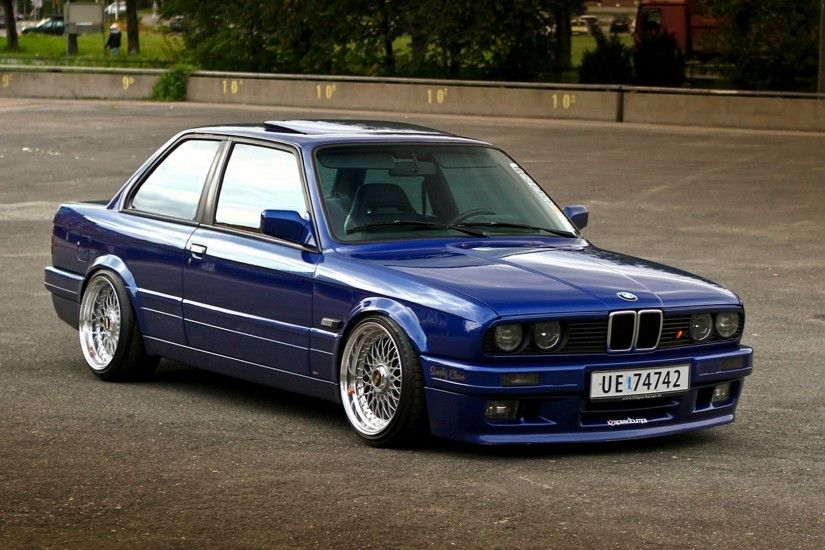 BMW, Stance, BMW E30, BBS Wallpapers HD / Desktop and Mobile Backgrounds