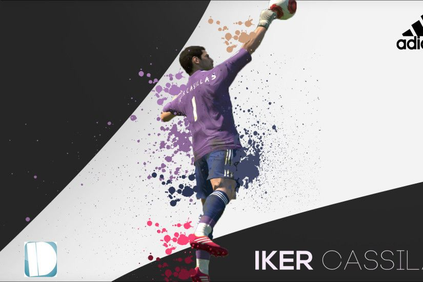 ... IndividualDesign Iker Casillas PES 2014 Wallpaper by IndividualDesign