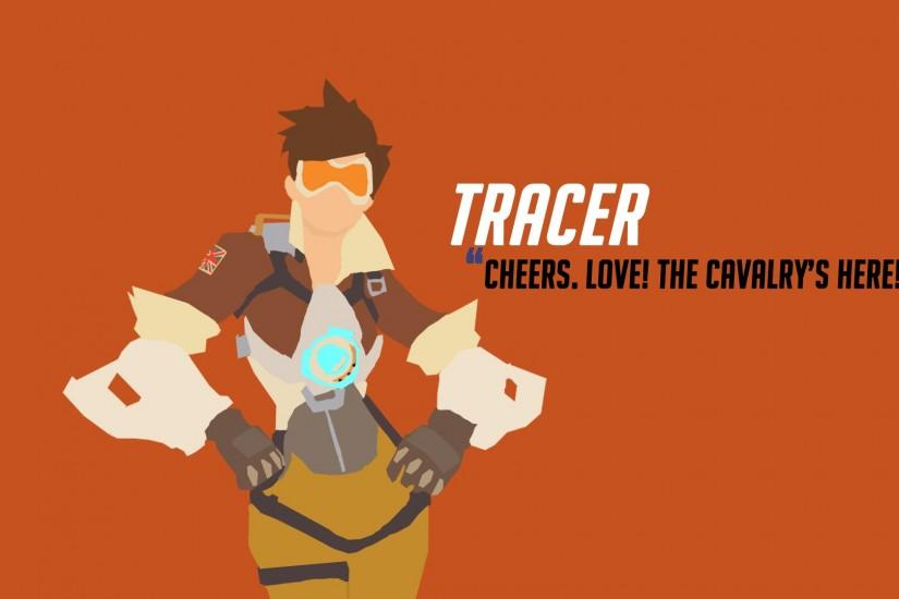 download free tracer wallpaper 1920x1080