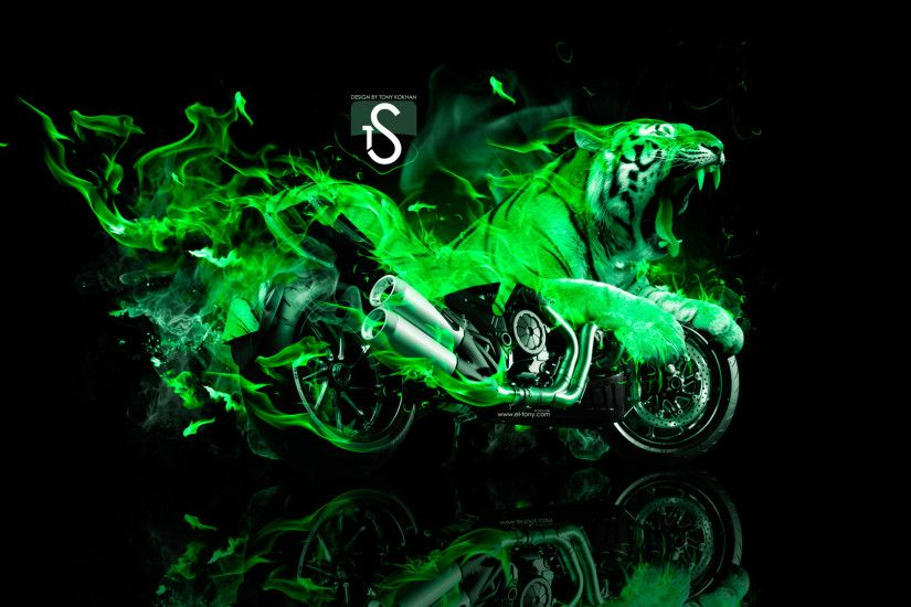 Cool Green Fire Wallpapers - Bing images