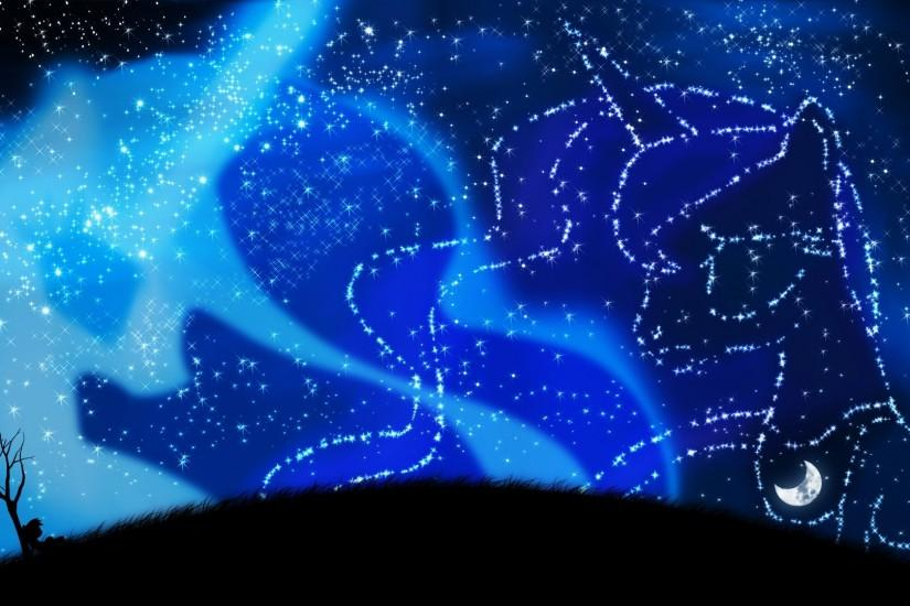 Princess Luna and Princess Celestia background wallpaper by by  artist-oliminor