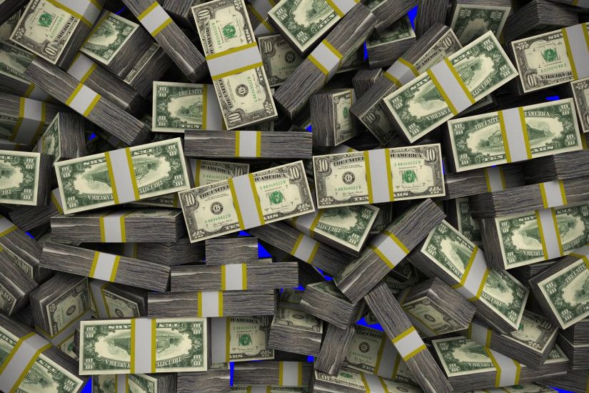 Money stacks bundles transition dollars financial win US USA American  currency Stock Video Footage - VideoBlocks