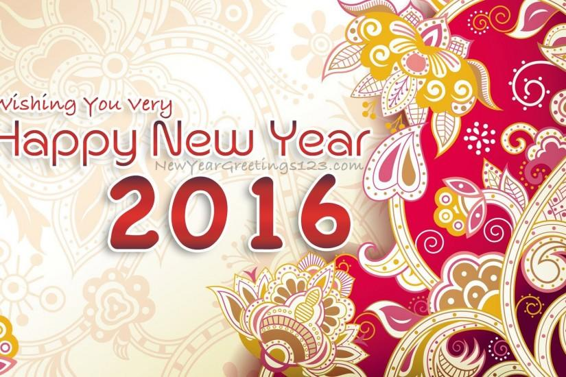 Happy New year Wallpapers - Wishes - 2016 New Year SMS - Quotes, Gifts ,  Ideas - YouTube