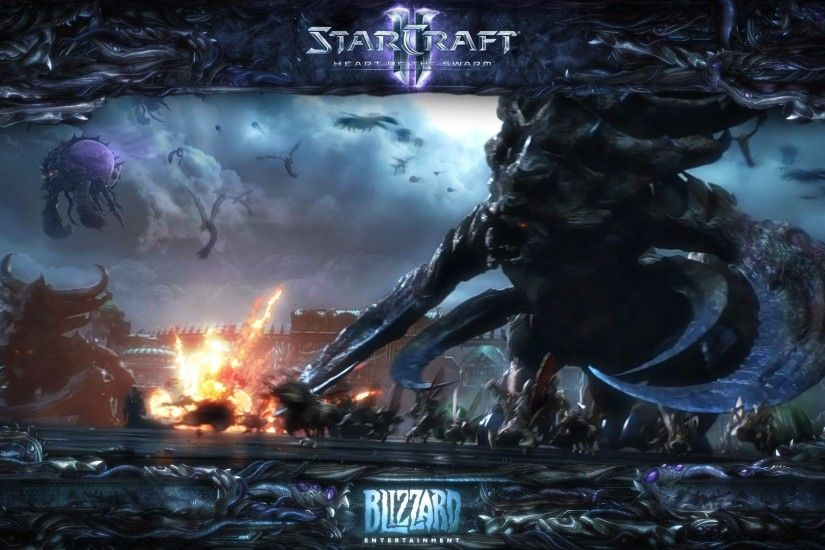 starcraft 2 heart of the swarm iphone 5 wallpaper » Wallppapers