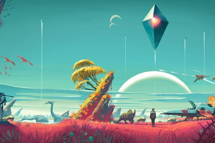 no mans sky wallpaper 1920x1080 for xiaomi