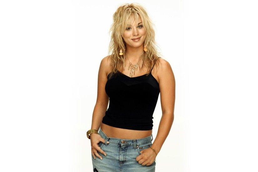 Kaley Cuoco, Blondes, Women, Actresses, Simple Background
