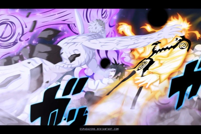 naruto and naruto vs obito hd anime wallpaper 1920x1200