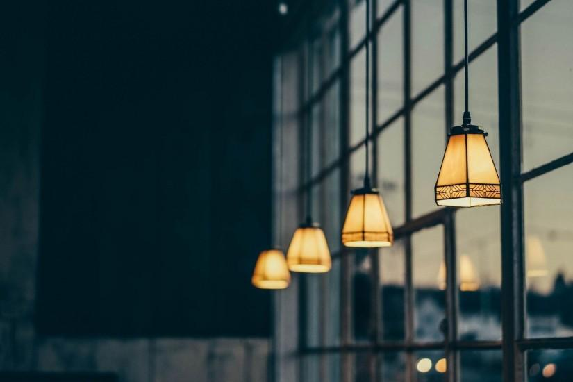 Vintage Lamps in The Window Wallpaper - MixHD wallpapers