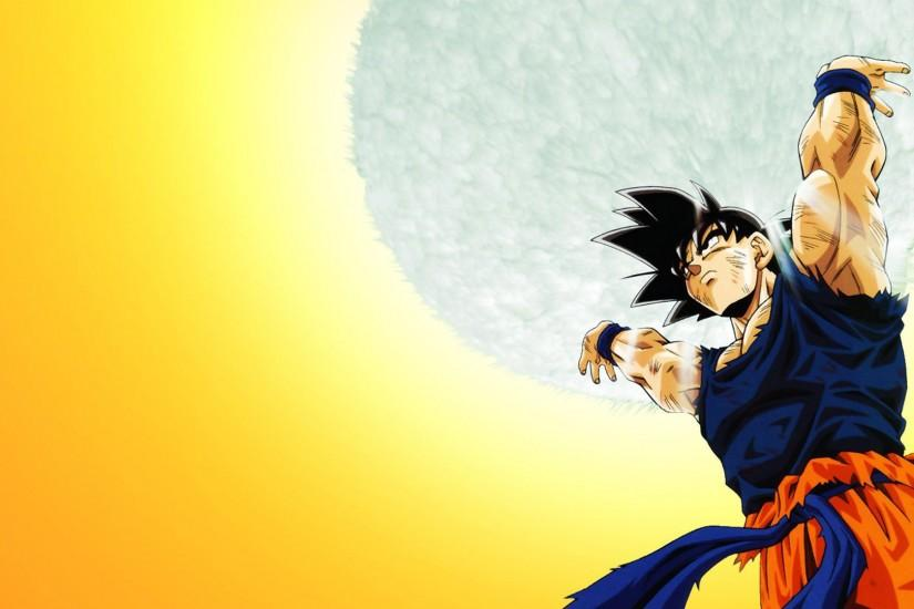 HD Wallpapers dbz Goku Desktop Background.