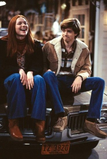 Eric Forman (Topher Grace) is so cute! That '70s Show.