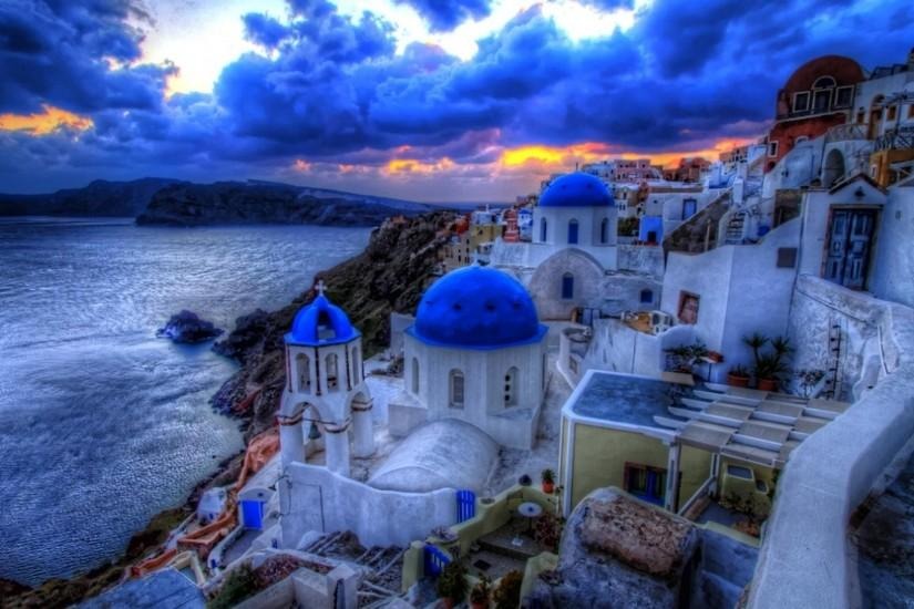 Greek Architecture High Definition Wallpaper