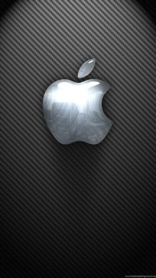 Apple Iphone 6s Wallpapers 3d Glossy Logo