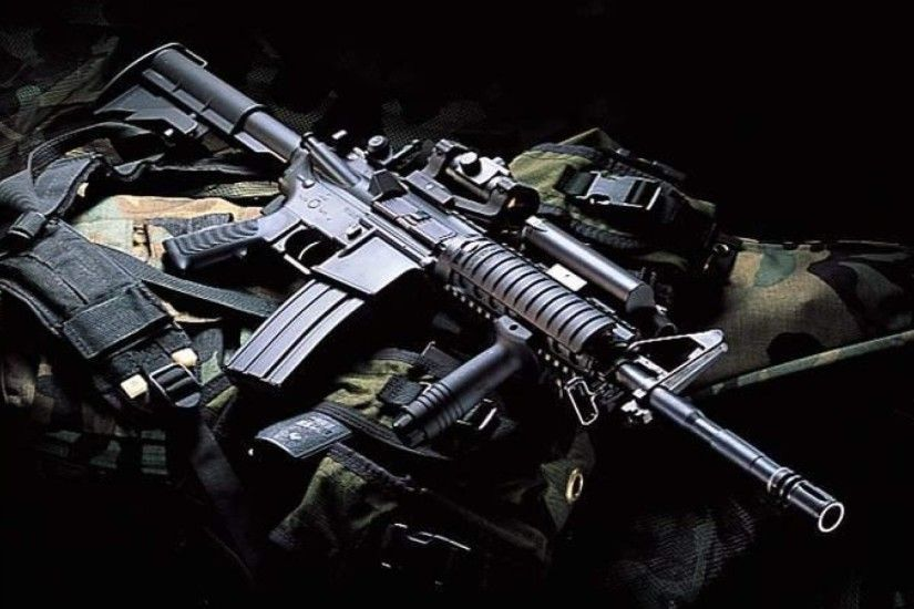 ... M16 Rifle Wallpapers - 1920x1080 - 516110 ...