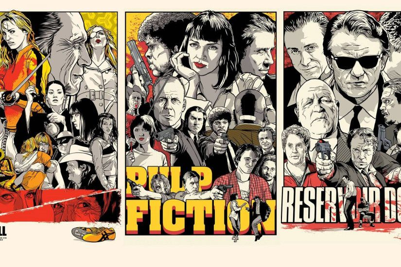 Preview wallpaper quentin tarantino, pulp fiction, kill bill, reservoir  dogs 1920x1080