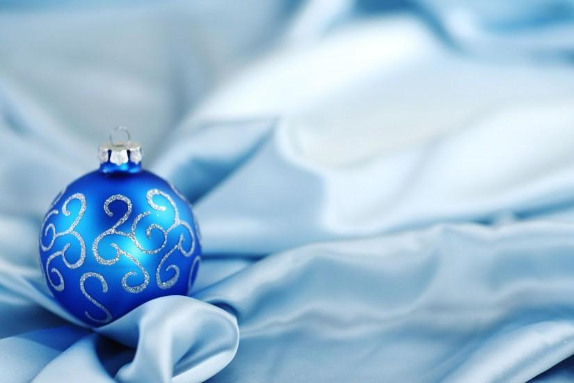 Wallpapers For > Blue Christmas Background Wallpaper