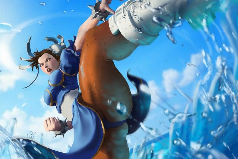 Download Chun li art, Chun li audio wallpaper