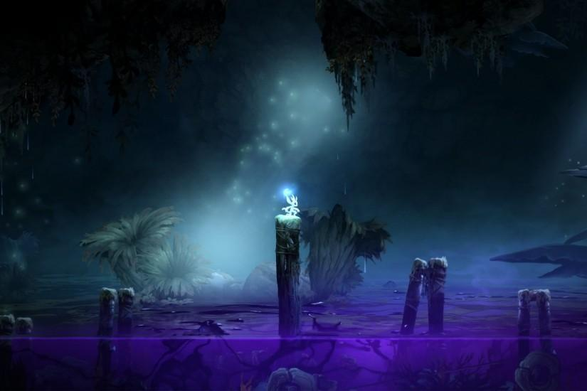 beautiful ori and the blind forest wallpaper 1920x1080