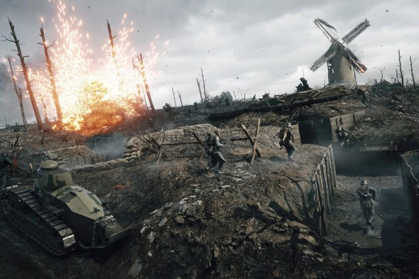 free battlefield 1 background 3840x2160