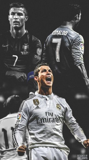 ... Cristiano Ronaldo Wallpaper 2015 by F-EDITS