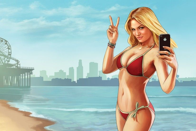 Grand Theft Auto V Beach Weather HD Wide Wallpaper for 4K UHD Widescreen  desktop & smartphone