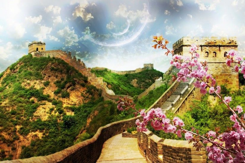 Photography - Great Wall Of China Wallpaper