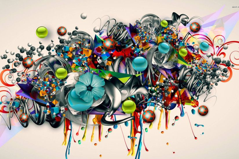3d Graffiti Art Wallpapers Background