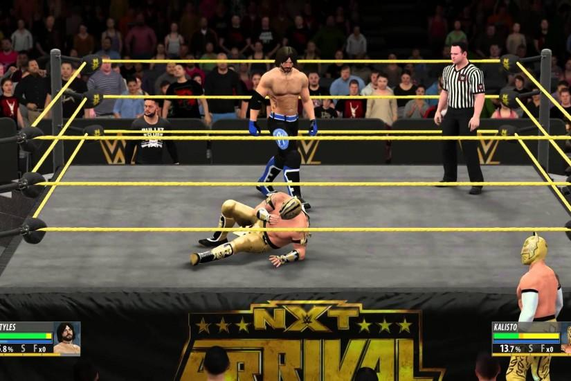 【PS4】WWE2K16 BULLET CLUB VS The Lucha Dragons