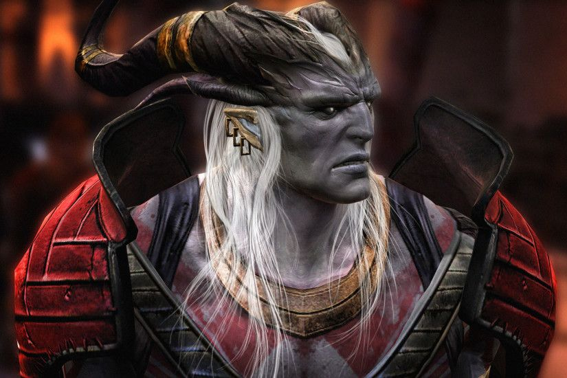 Dragon Age 2 Arishok Qunari Wallpaper