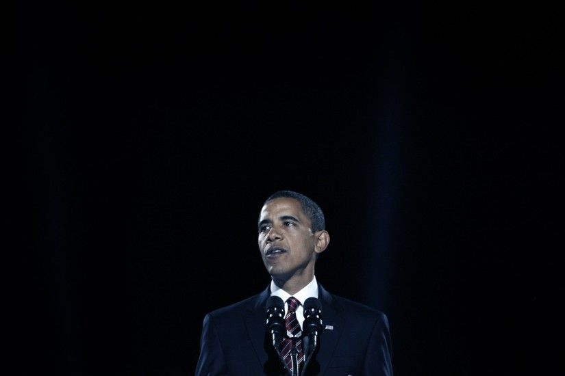 President-elect Barack Obama delivers his victory speech at an election  night gathering in Chicago's Grant Park, on November 4, 2008 / Photo  credit: Getty ...