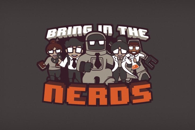 bring in the nerds wallpaper edition by blo0p customization wallpaper .