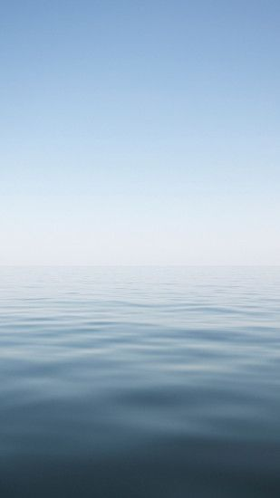 Clear Minimal Ocean Water Surface Landscape #iPhone #6 #plus #wallpaper