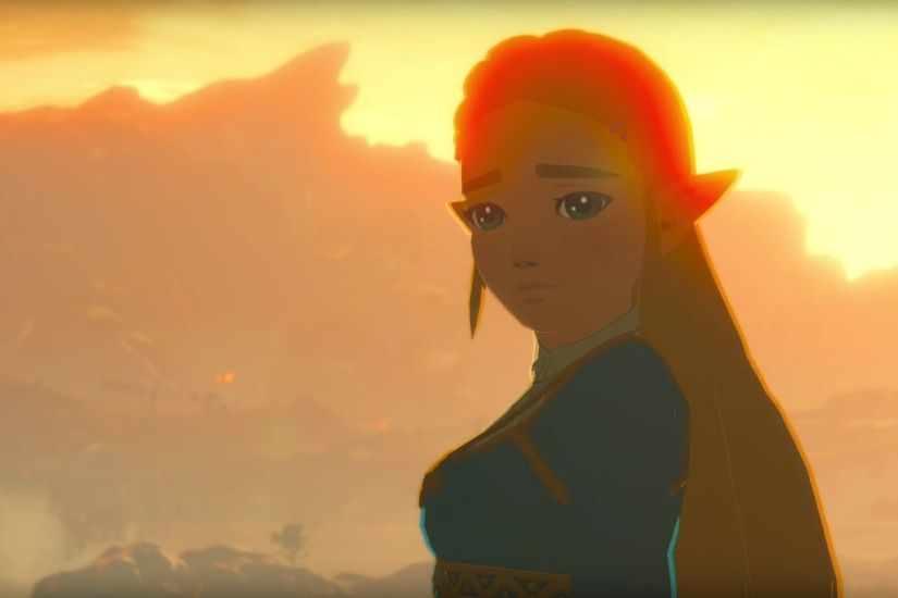 Fan ArtDIY - Zelda Breath of the Wild, Wallpapers from Switch Trailer  (1080p) - Gallery link in the comments.