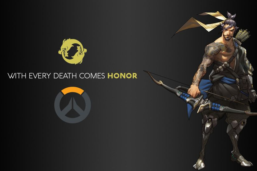 DXHHH101 (Author), Hanzo, Hanzo Shimada, Blizzard Entertainment, Overwatch,  Video Games, Logo Wallpaper HD