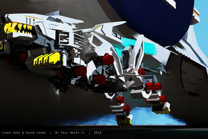 ... Liger Zero and Hover Cargo by mufasa561