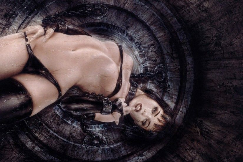luis royo chains art