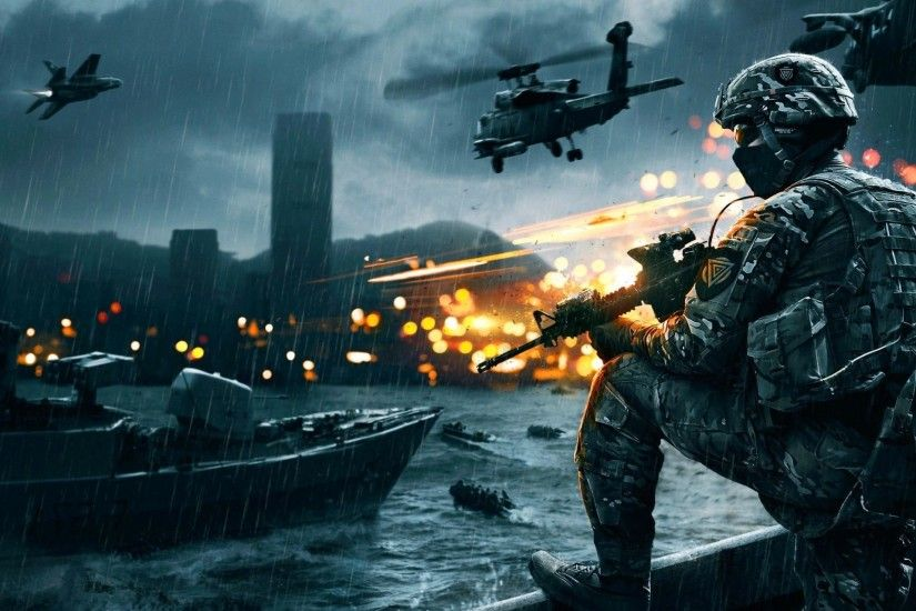 Battlefield 4: Naval Strike, Soldiers, Ships, Fps, Helicopter