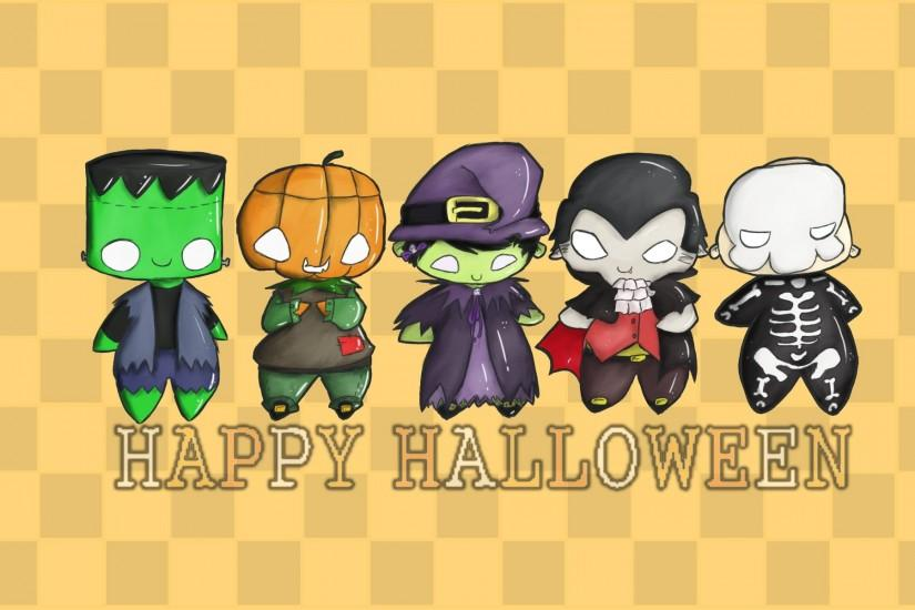 cute halloween wallpaper 1920x1200 for hd 1080p