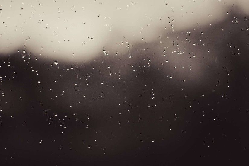Rain on the Window HD Wallpaper. « »