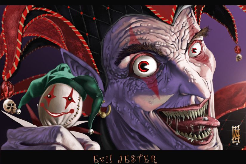 Evil Jester wallpaper from Clowns wallpapers