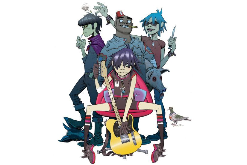 Gorillaz backdrop wallpaper