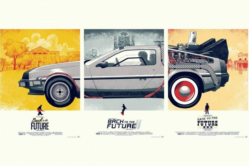 Back To The Future DeLorean Machine The Others · HD Wallpaper | Background  ID:227424