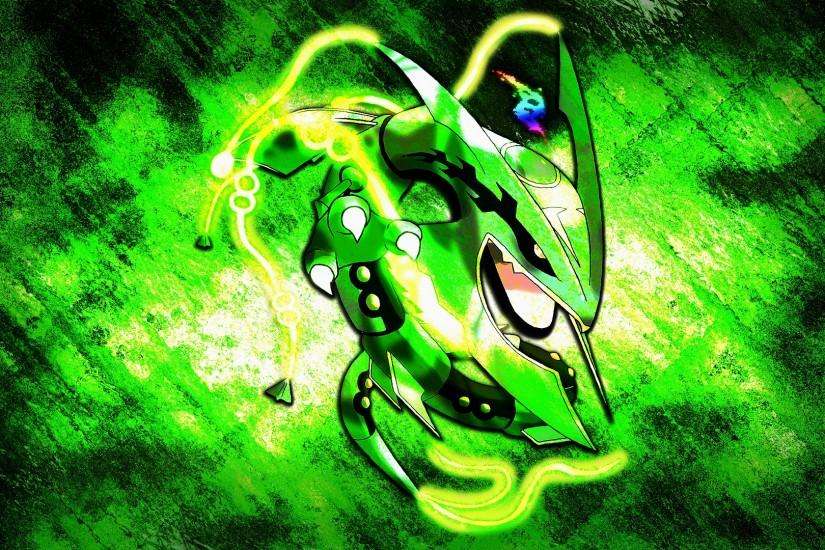 Glench 22 6 Mega Rayquaza Wallpaper by Glench
