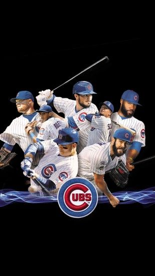 2016 Cubs on black, ...