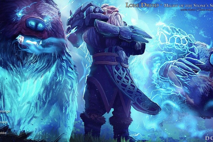 Fresh Gambar Lone Druid Dota 2 Wallpaper