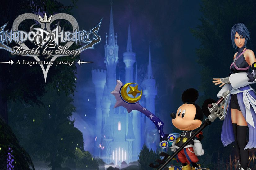 ... Kingdom Hearts: 0.2 Wallpaper by The-Dark-Mamba-995