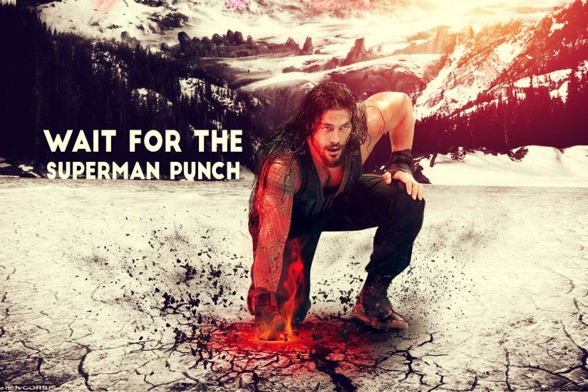 Roman Reigns - Super Man Punch