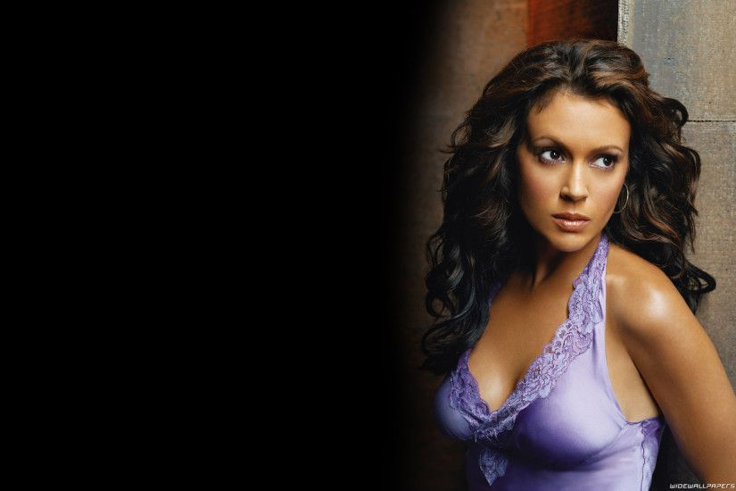 Photo Collection Alyssa Milano Lingerie Hd Wallpaper. Download in full size
