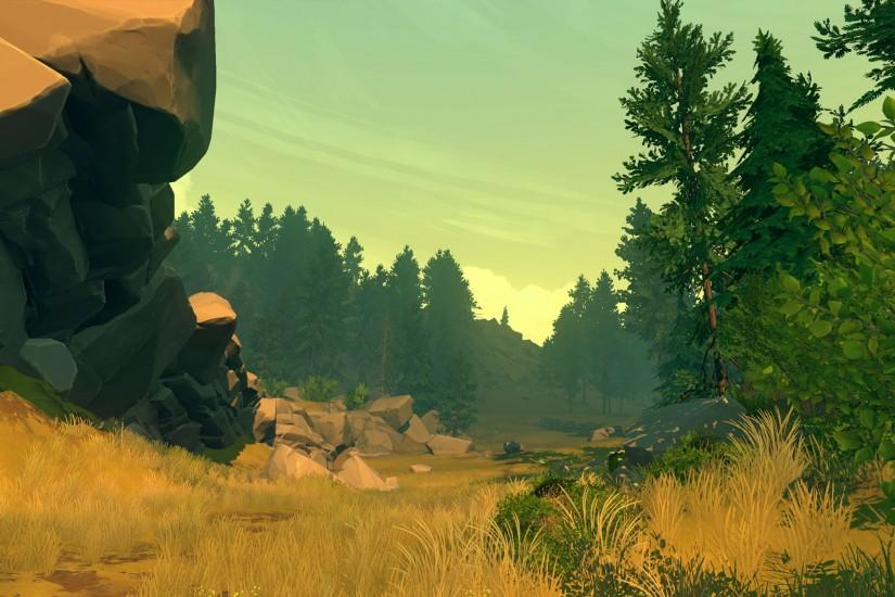 most popular firewatch wallpaper 2740x1146