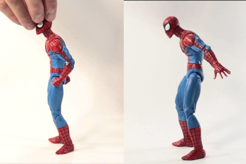Marvel Select Spectacular Spider-Man Torso Articulation Fix/Modification -  YouTube